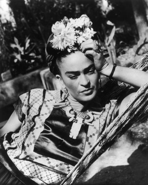 Human Hand Photograph - Thoughtful Frida by Hulton Archive