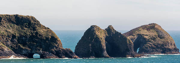 Photograph - Three Arch Rocks Panorama by Robert Potts