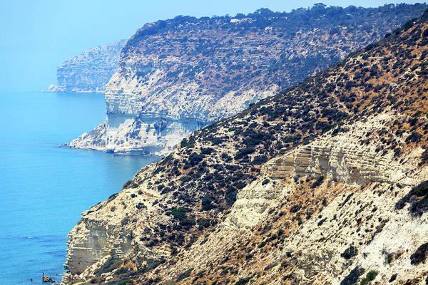 Photograph - Three Cliffs Cyprus by John Rizzuto