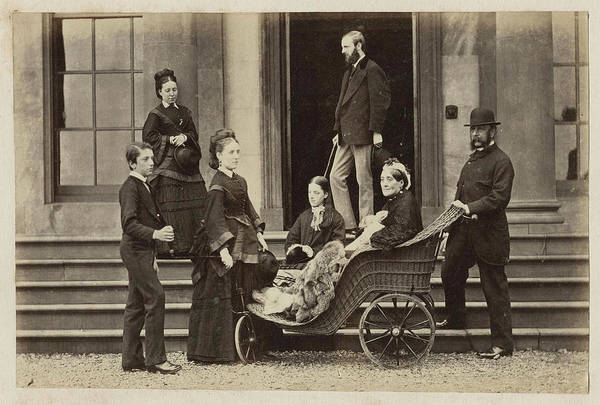 Painting - Three Generations, Ca 1865 by Celestial Images