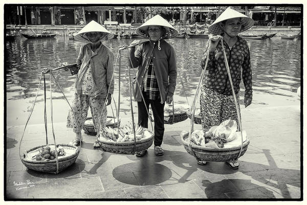 Wall Art - Photograph - Three Little Women From Vietnam by Madeline Ellis