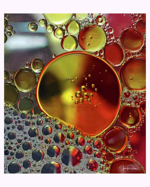 Photograph - Three-way Bubbles by Jennifer Robin