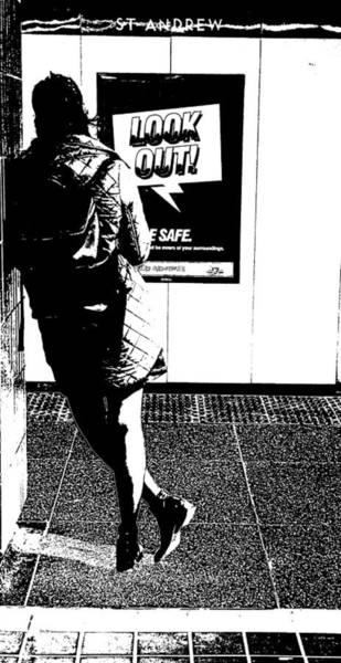 Wall Art - Photograph - Threshold Noir  by Valentino Visentini