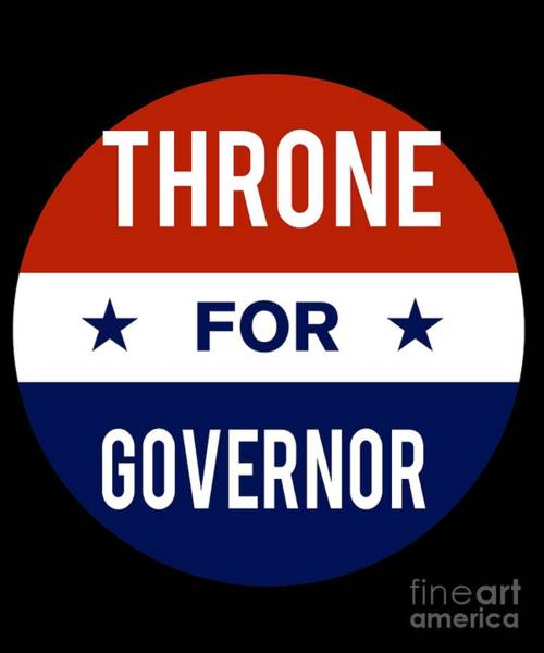 Governor Digital Art - Throne For Governor 2018 by Flippin Sweet Gear