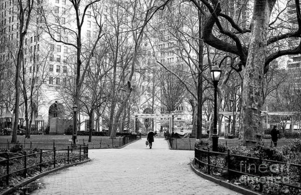 Wall Art - Photograph - Through Madison Square Park New York City by John Rizzuto