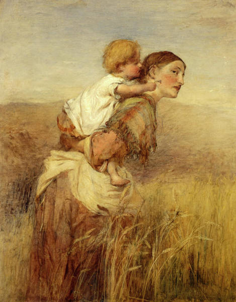 Wall Art - Painting - Through The Corn by William Quiller Orchardson