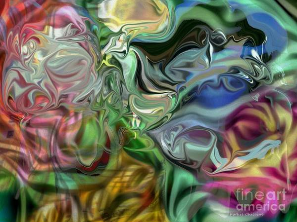 Digital Art - Through The Looking Glass by Kathie Chicoine