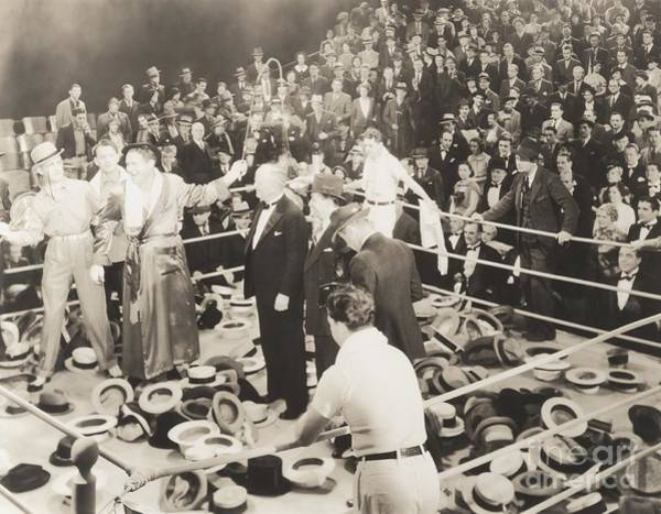 1910s Wall Art - Photograph - Throwing Their Hats Into The Ring by Everett Collection