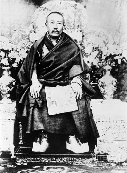 Photograph - Thubten Choekyi Nyima  by Granger