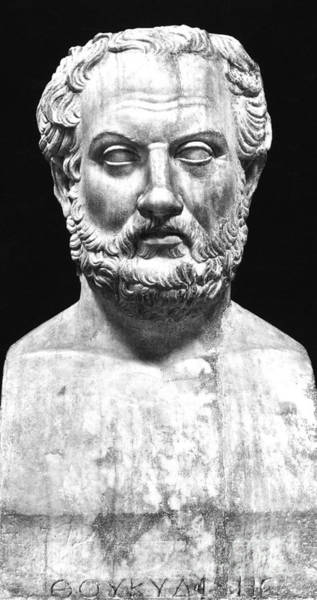 Wall Art - Sculpture - Thucydides by Greek School