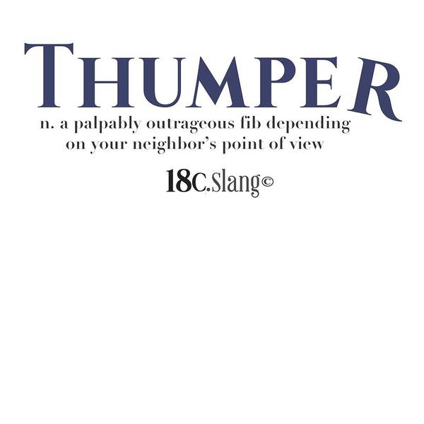 Digital Art - Thumper by 18th Century Slang