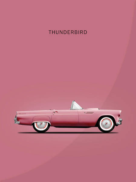 Thunderbird Wall Art - Photograph - Thunderbird Pink by Mark Rogan