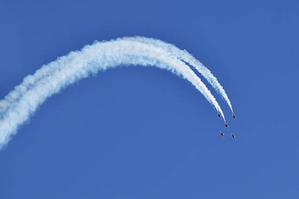 Photograph - Thunderbirds Command The Skies by Chance Kafka