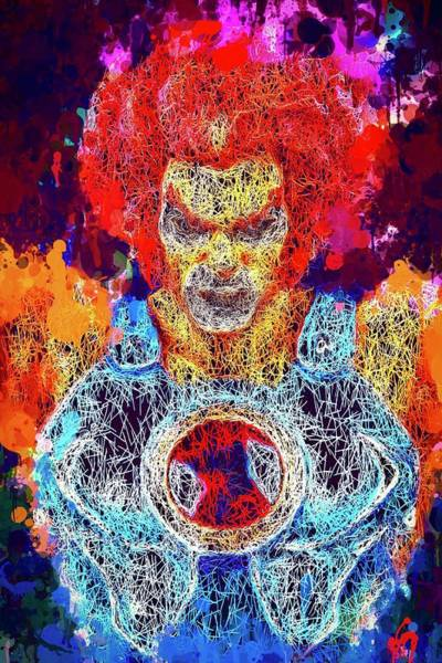 Mixed Media - Thundercats by Al Matra