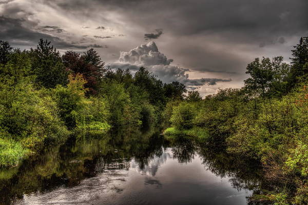 Photograph - Thunderhead Over The Plover River by Dale Kauzlaric