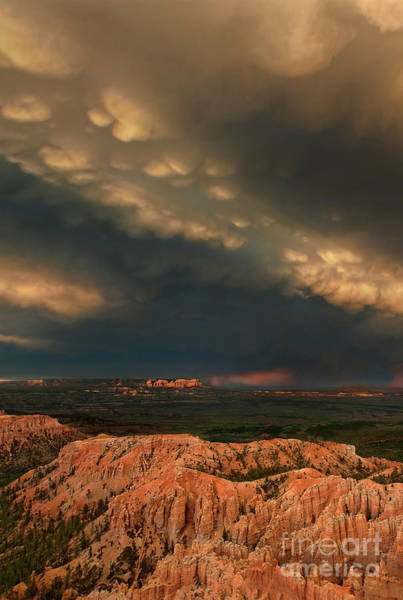 Photograph - Thunderstorm Over Bryce Canyon National Park Utah by Dave Welling