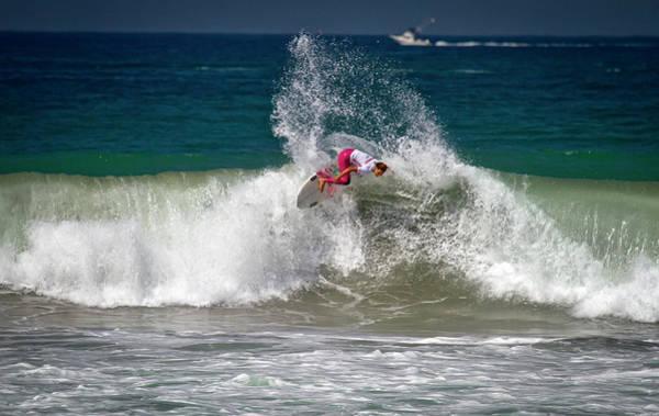 Photograph - Tia Blanco Surfer Girl by Waterdancer