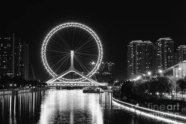 Photograph - Tianjin Eye by Iryna Liveoak