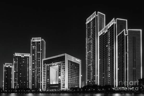 Photograph - Tianjin Skyline by Iryna Liveoak