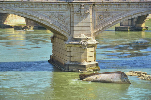 Photograph - Tiber Bridges by JAMART Photography