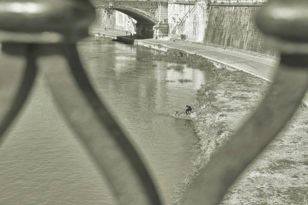 Photograph - Tiber Fishing by JAMART Photography