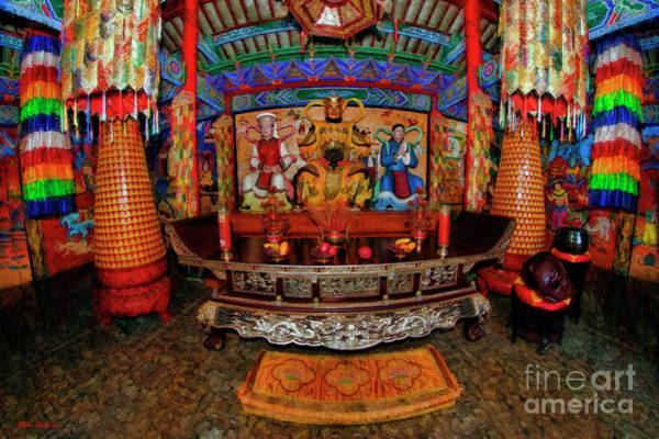 Photograph - Tibetan Buddhist Temple China by Blake Richards