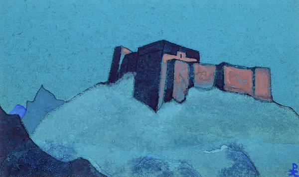 Tibetan Painting - Tibetan Dzong, 1937 by Nikolai Konstantinovich Roerich