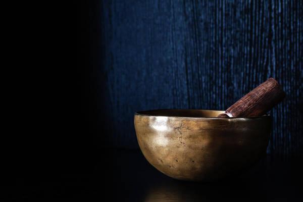 Photograph - Tibetan Singing Bowl by Jeanette Fellows