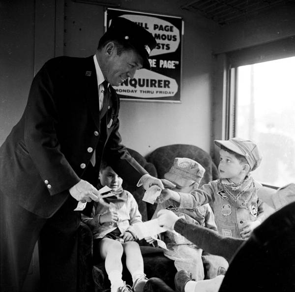 1958 Photograph - Tickets Please by Nocella