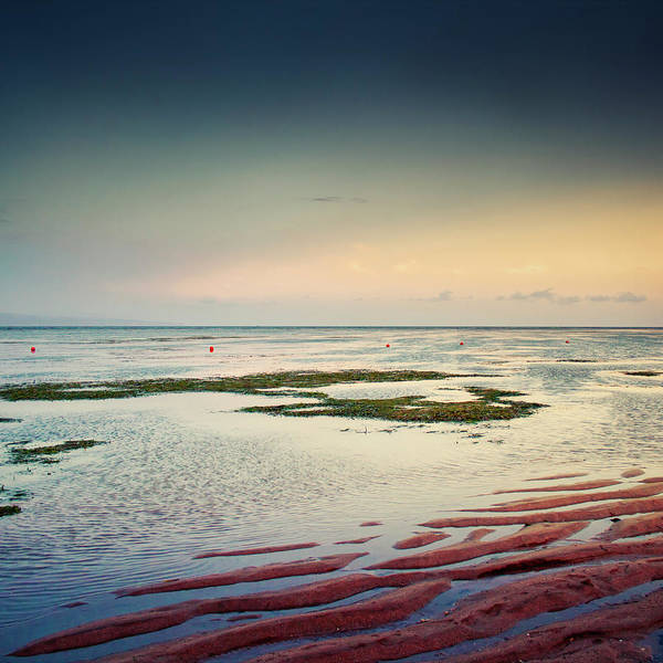 Low Tides Photograph - Tidal Flats At Sunset In Sanur, Bali by Dirk Wüstenhagen Imagery