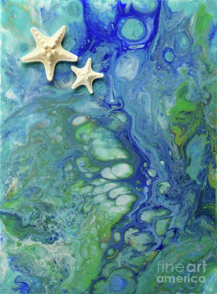 Starfish Painting - Tidal Pool by Waves of Joy LLC