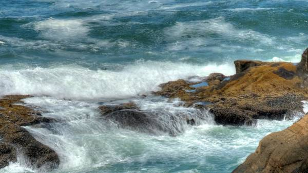 Photograph - Tidal Waves by Jerry Sodorff