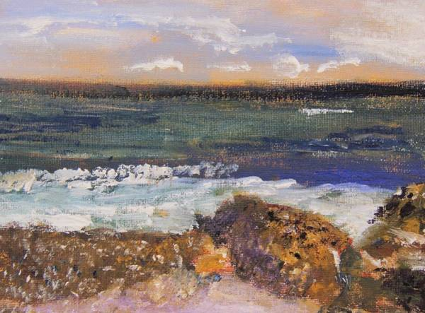 Painting - Tide Coming In by Michael Helfen