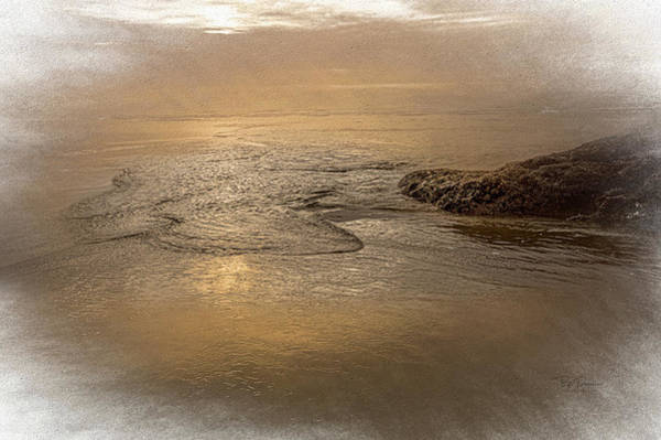 Photograph - Tide Introspective by Bill Posner