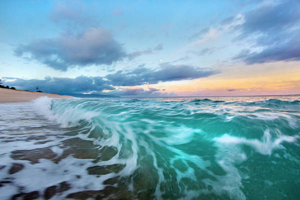 Wall Art - Photograph - Tie-dyed Tide by Sean Davey