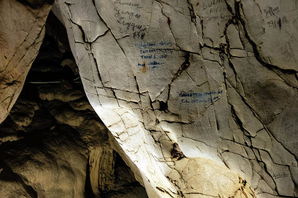 Wall Art - Photograph - Tien Ong Cave - Halong Bay, Vietnam by Madeline Ellis