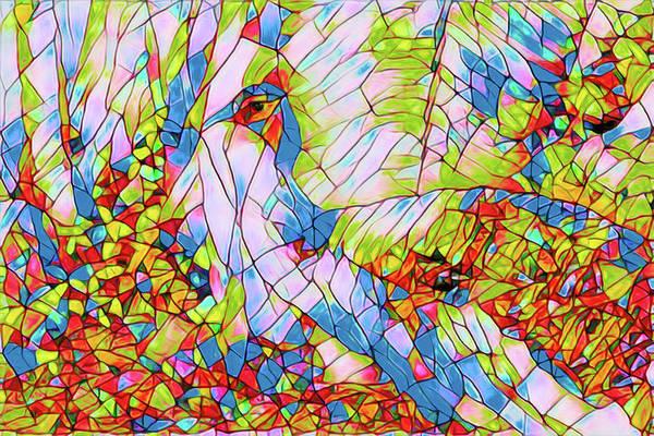 Digital Art - Tiffany Peacock Artwork 0203 by Carlos Diaz