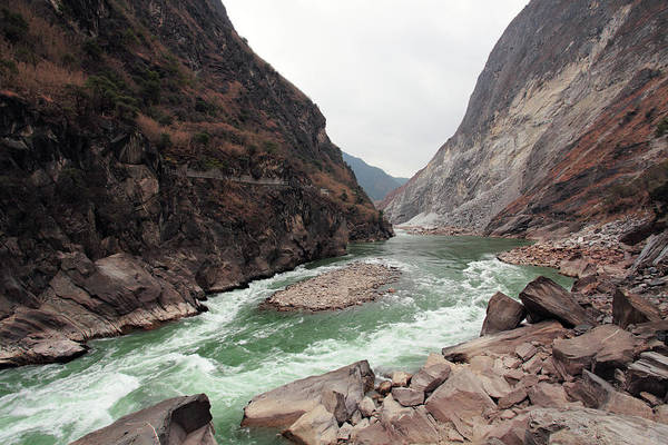 East County Photograph - Tiger Leaping Gorge by Yinjia Pan