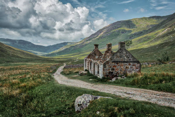 Crofting Photograph - Tigh-na-sleubhaich by David Howell