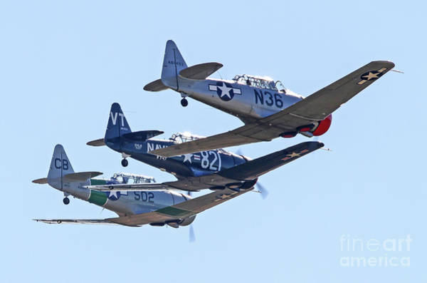 Photograph - Tight Formation Flying by Kevin McCarthy