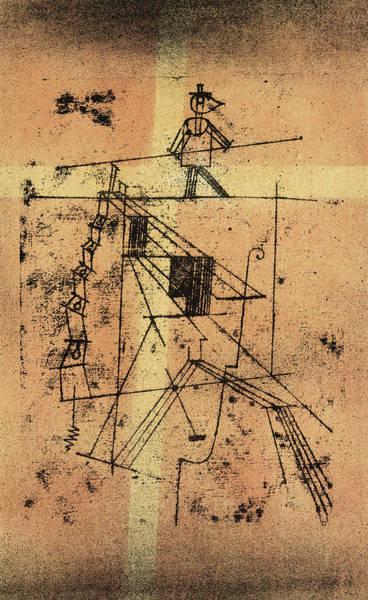 Wall Art - Painting - Tightrope Walker, 1923 by Paul Klee