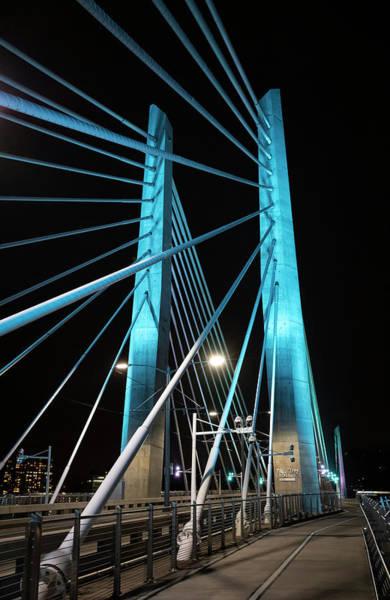 Photograph - Tilikum Bridge by Steven Clark