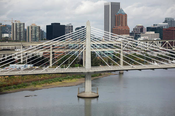 Wall Art - Photograph - Tilikum Crossing, Portland, Oregon, Usa by Panoramic Images