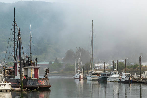 Photograph - Tillamook Bay In The Fog by Bill Gallagher