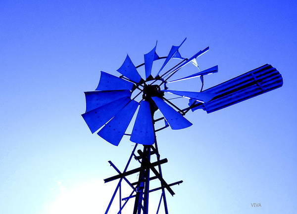 Photograph - Tilting At Windmills by VIVA Anderson