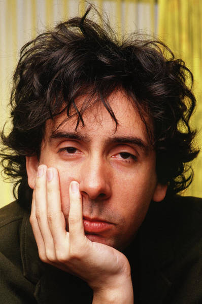 Photograph - Tim Burton Portrait Session by George Rose