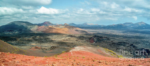 Wall Art - Photograph - Timanfaya Panorama by Delphimages Photo Creations
