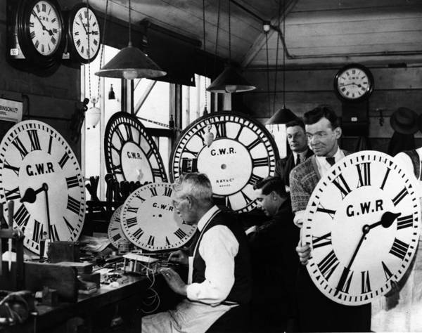 Workshop Photograph - Time Keepers by Harry Todd