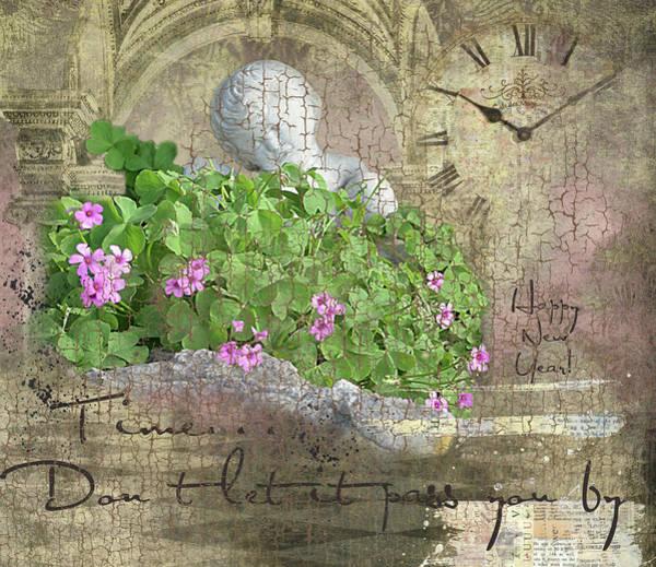 Wall Art - Digital Art - Time by Linda Cox