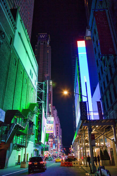Photograph - Time Square 2 by Jacqui Boonstra
